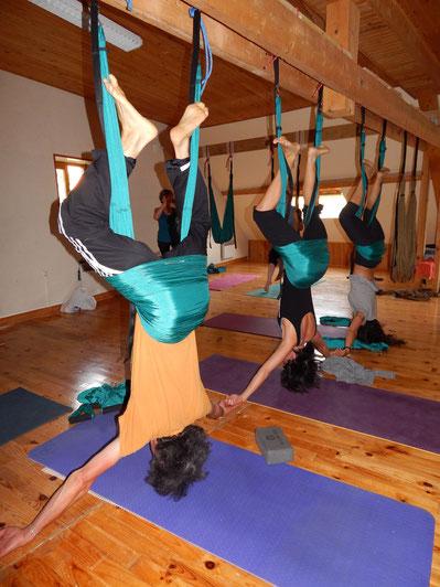 Yoga_swing, yoga_aérien, yoga_suspendu, yoga, Jyoti-yogi, Grimone, rando