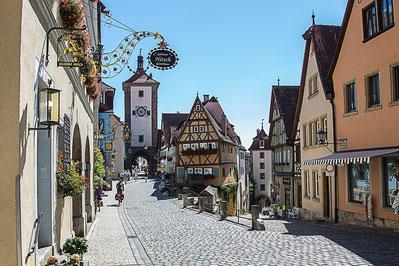Rothenburg cité médiéval de Bavière