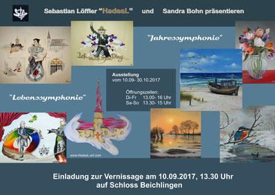 """Flyer """"Schloss Beichlingen 2017"""""""