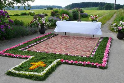Altar Familie Stöckler Sonnenbühl 2019