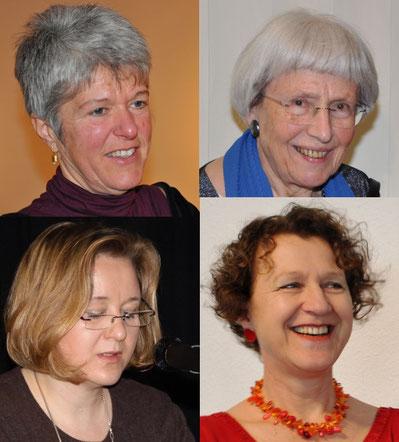 Lesung mit Musik: Karin Bruder, Franziska Joachim, Sabine Stern, Rita Huber-Süß