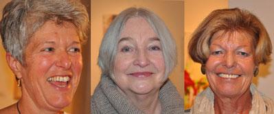 Karin Bruder, Irmentraud Kiefer, Brigitte Eberhard
