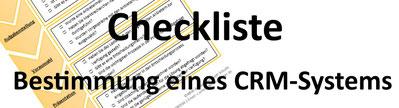 Checkliste CRM-System auswählen