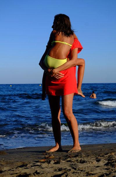 Mathieu Guillochon, photographe, rivages, couleurs, mer, méditerranée, cabo de gata, rouge, bleu, jaune, plage de la isleta del moro, Andalousie, Espagne
