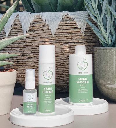 Bio Zahnpasta aus Österreich von Apfeldental.at - nachhaltige und faire Produkte