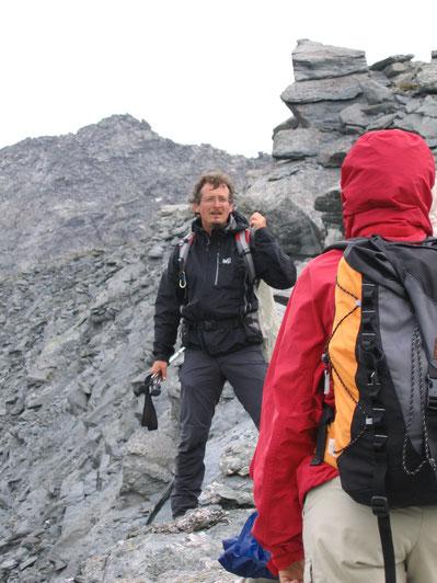 Marc Chatonnay, Accompagnateur en Montagne