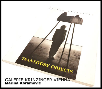 Marina Abramovíc Buch Book Transitory Objects