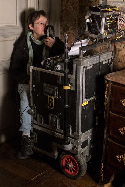 Sur le tournage d'Anton Tchekhov-Photo de F.Travia