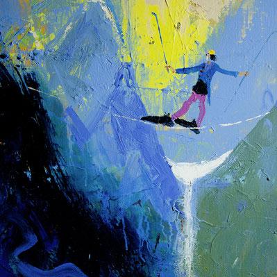 """Adi Holzer, """"Schwierige Passage"""" (2002)"""