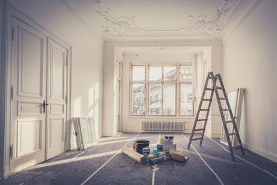 Darlehen für Renovierung oder Sanierung