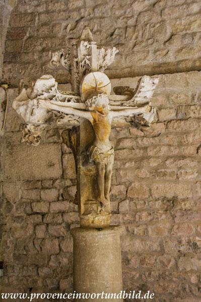 Bild: Kathedrale Notre-Dame-de-Nazareth in Vaison-la-Romain mit Kreuzgang