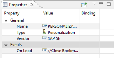 Personalization im Bookmark Manager