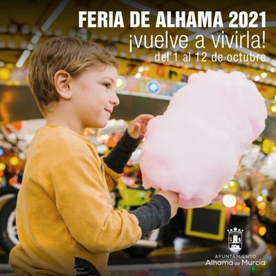 Programa de la Feria de Alhama de Murcia