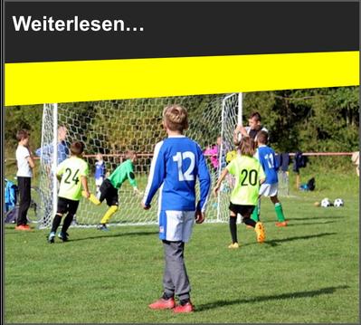 VfL Altenhagen Kinder spielen Fußball