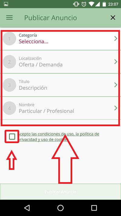 Cómo Publicar Anuncios En Milanuncios En Android