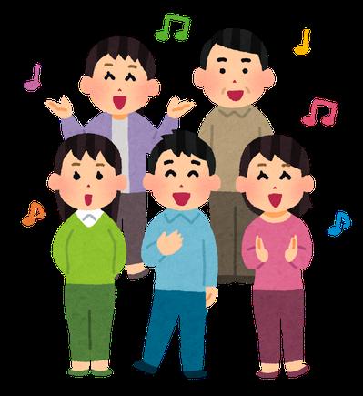 合唱練習イメージ