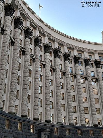 Ministerkabinett gegenüber des Mariinsky Parks