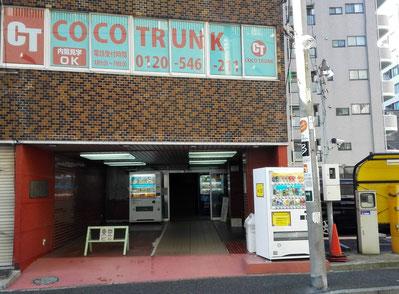 COCO TRUNK伊勢佐木長者町 1階エントランス