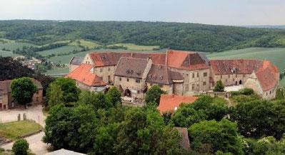 Elisabeth von Thüringen lebte von 1225 bis 1226 auf der Neuenburg.   (BILD: Peter Lisker)
