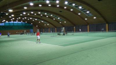 Spielbeginn im Noriscenter Nürnberg