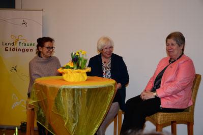 von links Jutta Giese, Ilse-Anne Severloh, Margarete Klie