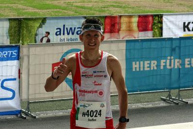8. Gesamtrang beim Stuttgart-Lauf in 01:14:46 Stunden über 21,1 Km