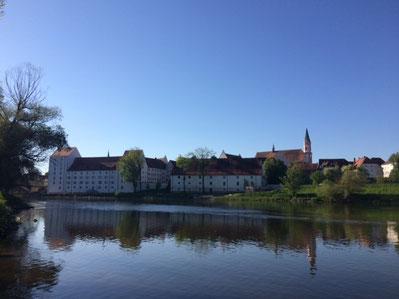Das Herzogsschloss in Straubing