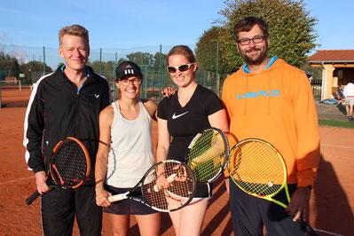 Annette Mader und Daniel Mayer triumphierten bei den diesjährigen Mixed-Meisterschaften vor Katharina Stenzel und Patrick Hirner