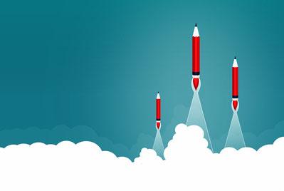 Visuel de crayon fusée