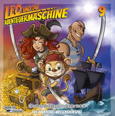 CD-Cover Leo und die Abenteuermaschine 9