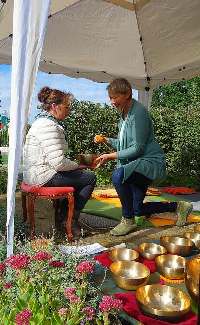"""Klangspüren bei der Messe """"Garten und Genuss"""" in Bad Rappenau (Sept. 2017)"""