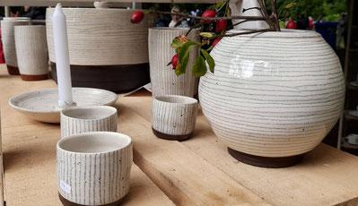 Keramik aus dem Ruhner Land. Foto: J. de Gruyter