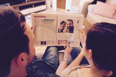 Kleine Zeitung, Weltreise, Reiseblog, Tageszeitung, Sonntagszeitung, Travel