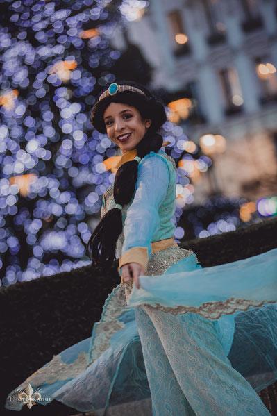 Anniversaire Jasmine à domicile