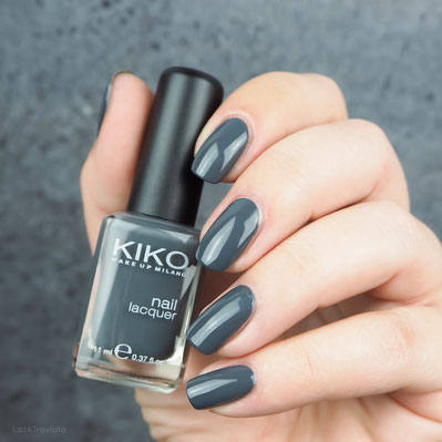 swatch KIKO •  326 Graphite Gray