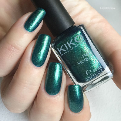 swatch KIKO 532 Pearly Amazon Green