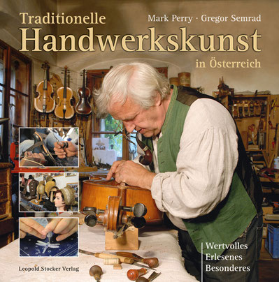 Traditionelle Handwerkskunst in Österreich Maultrommelerzeugung Wimmer-Bades
