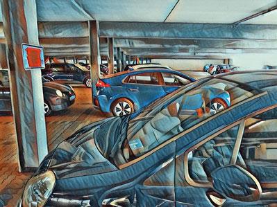 parkhaus flughafen zürich