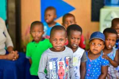Zwischenstopp: Besuch in einer Kindertagesstätte