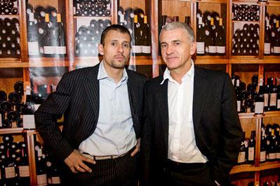 Florent et Philippe COLONNA, créateurs et organisateurs de SAVIM.