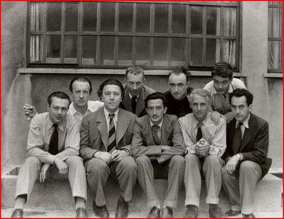 Tristan Tzara, Paul Eluard, Andre Breton, Hans Arp, Salvador Dalí, Yves Tanguy, Max Ernst, Rene Crevel, Man Ray, Paris, 1933