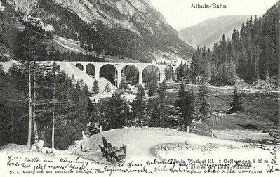 Nr. 4, Verlag von Ant Reinhardt, Photogr. Chur, gestempelt 14.01.1903