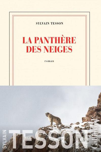 La panthère des neiges ; Sylvain Tesson. Culture Maxime Lelièvre