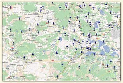 Weinanbaugebiet Senftenberg, Bad Liebenwerda, Schlieben, Doberlug Kirchhain (Lausitzer Weinfreunde)