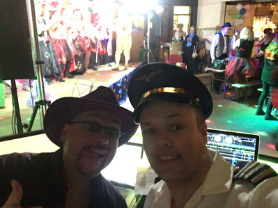 Veranstaltungstechniker und Party DJ Andre