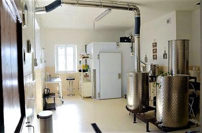 salle de brassage cuve empatage, cuve ébullition, bâche à eau, La mousse du Guiers