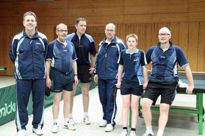 v.l.n.r.: Tom Willems, Guido Breidt, Ralf Hein, Ralph Remlinger, Marc Weber, Christoph Moritz