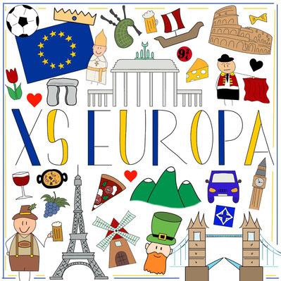 Mein Sketchnotes ABC - X wie XS Europa