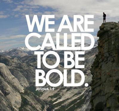Siamo chiamati a essere coraggiosi