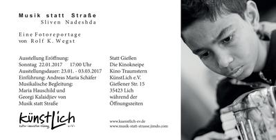 Andreas Maria Schäfer, Fotografiewelten,fotograph1956, Ausstellung,Rolf K. Wegst, Musik statt Straße, Schwarzweißfotografie